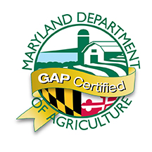 Maryland Department of Agriculture - GAP Certified